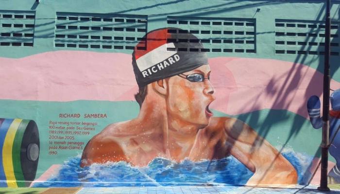 Mural Richard Sambera (dok. pri).