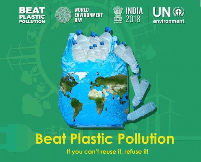 Pada peringatan Hari Lingkungan Hidup Sedunia (World Environment Day) tahun 2018 ini  Sumber: UN