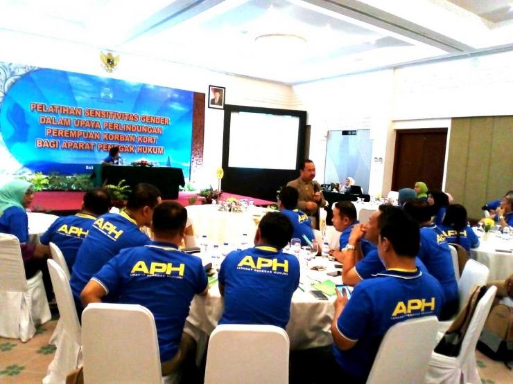 Pembukaan Pelatihan Sensitifitas Gender berlangsung di Bali (27/07/2018)