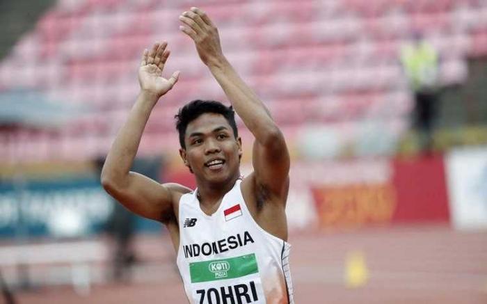 Lalu Muhammad Zohri diharapkan banyak pihak buat sabet emas Asian Games 2018/ foto: REUTERS/Lehtikuva)
