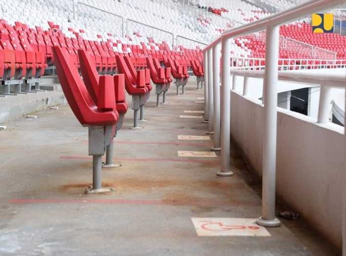 Fasilitas ramah disabilitas di stadion GBK/foto dari www.pu.go.id