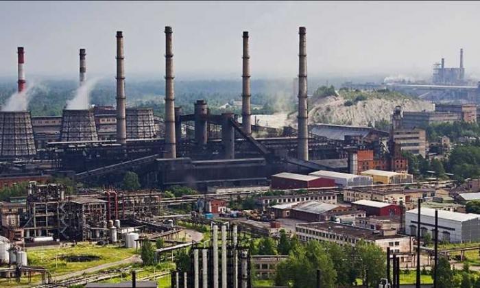 INDUSTRI: Penampakan dari udara Kawasan Industri Gresik.   bumntoday.com