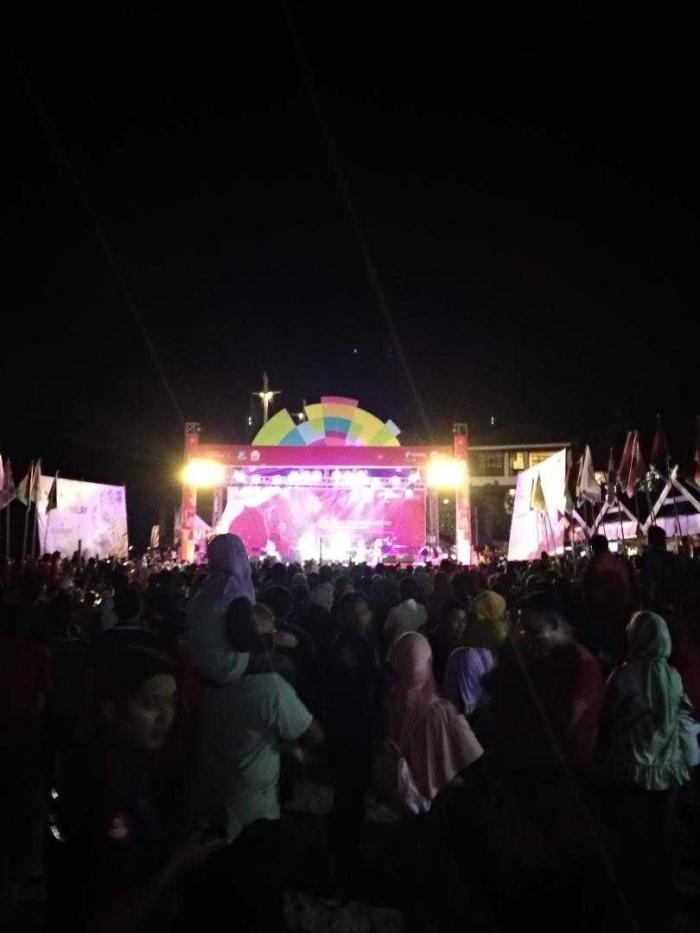 Panggung Festival Parade Obor Asian Games di Bulukumba (Dokumen Pribadi)