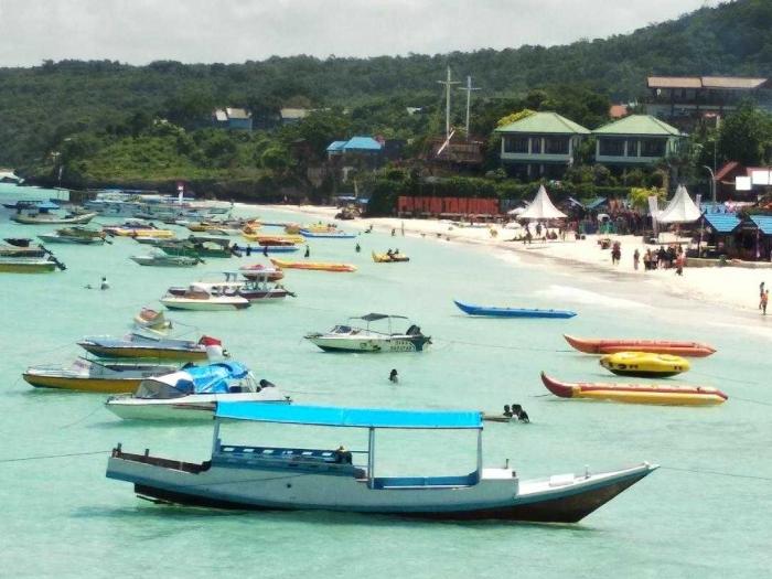 Keindahan pantai Tanjung Bira di siang hari (Dokumen Pribadi)