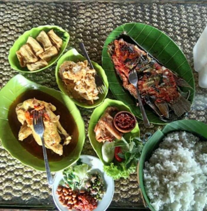 Menu makanan Waroeng Daoen (dok.istimewa)