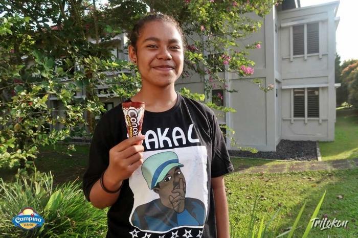Siswa Papua Suka Es Krim | Dokumen Pribadi