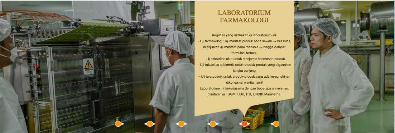 Teknologi yang digunakan di pabrik Sido Muncul sudah sesuai GMP (Sumber: tolakangin.co.id)