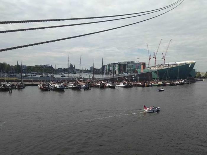 Pemandangan dari atas kapal, dokpri.