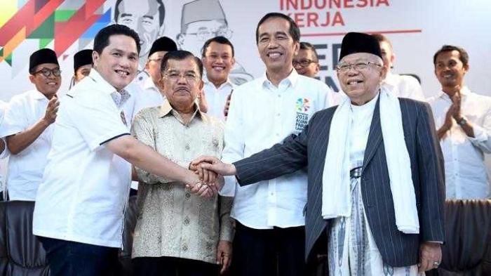 Timses Jokowi-Ma'ruf Amin/Tempo.co