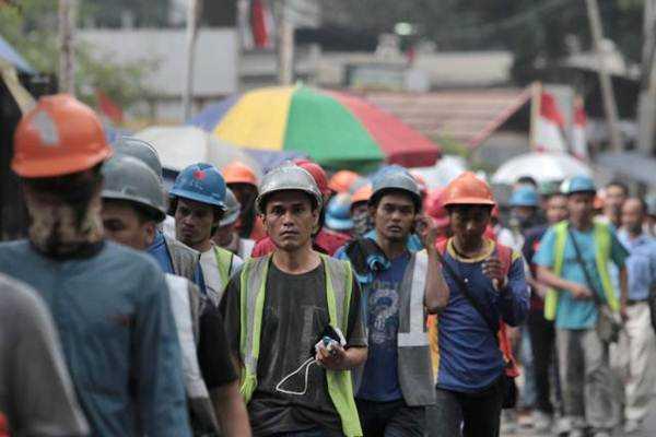 Illustrasi, Ledakan Usia Angkatan kerja, di Jakarta, Senin (9/10). - JIBI/Nurul Hidayat