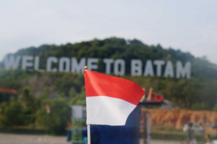 Welcome to Batam | Foto : Dok Pribadi