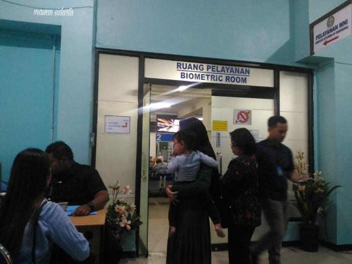 Suasana dalam kantor imigrasi (dok.pri)