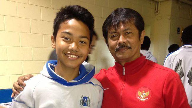Andri Syahputra dan Indra Sjafri | cnnindonesia.com