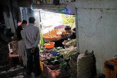 Penjual sayur sebelum konflik (dokpri)