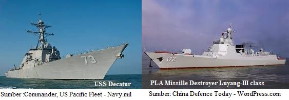 Sumber: Commander, US Pacific Fleet - Navy.mil + China Defence Today - WordPress.com