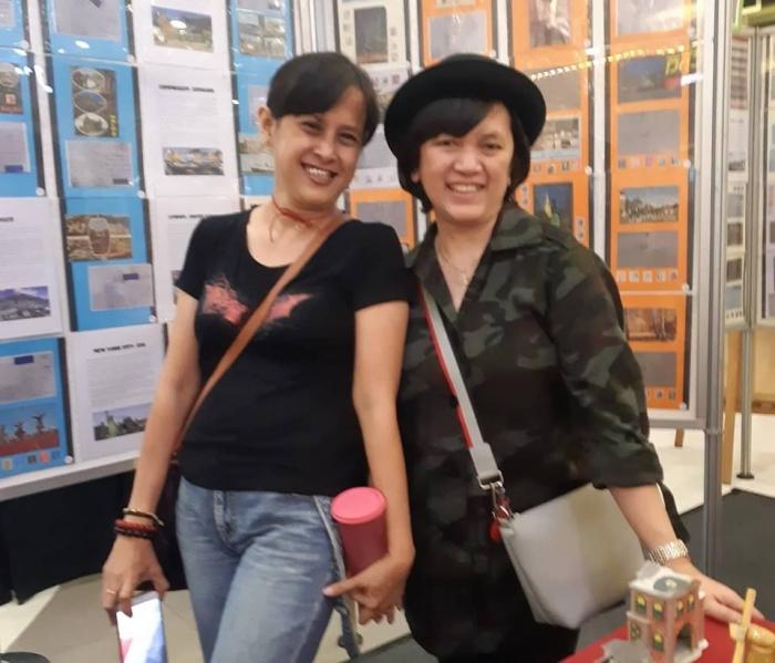 Dokumentasi pribadi/Aku dan Eby, teman masa kecilku, dari bersahabat pena .....