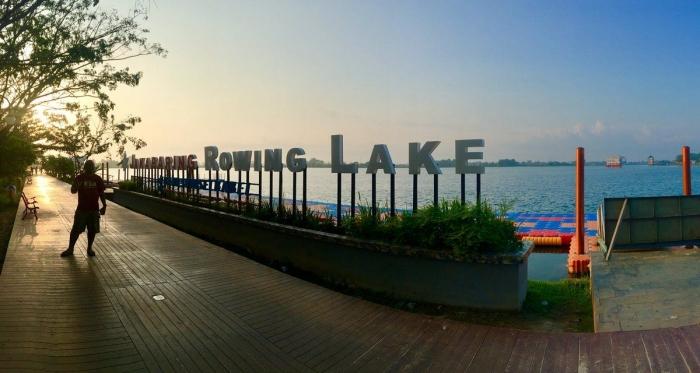Sunrise di Jakabaring, Palembang