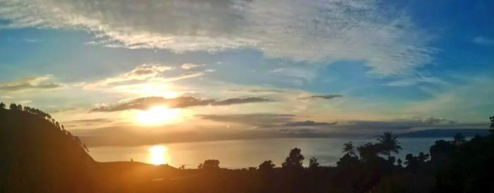 Sunrise di Silalahi, Danau Toba