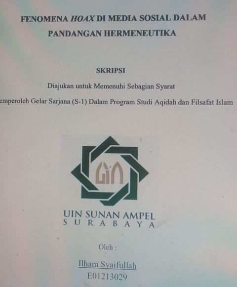 Contoh Soal Dan Materi Pelajaran 2 Contoh Tesis Filsafat Islam