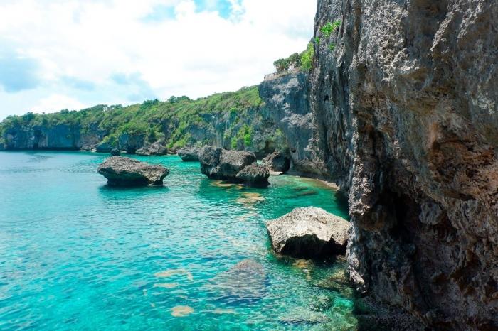 Tebing yang menakjubkan disepanjang pantai, dokpri