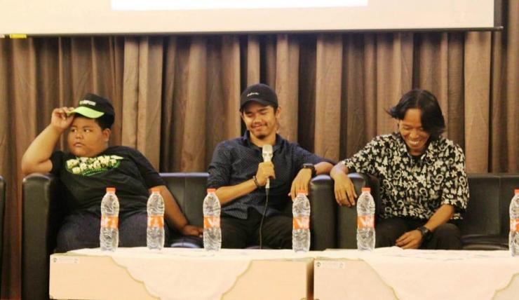 FIki, Bang Ijal, dan Bang Joker berbagi cerita tentang suksesnya BangIjal TV (Foto: Istimewa)
