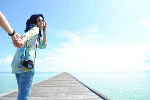Jetty Pulau Sangalaki (Dokumentasi Pribadi)