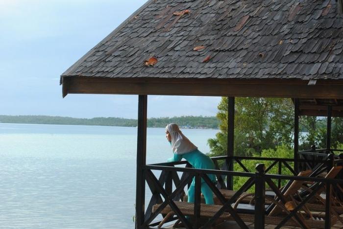 Salah Satu Resort di Maratua (Dokumentasi Pribadi)