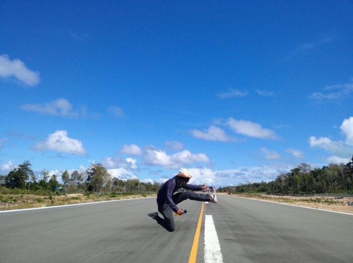 Runway Bandara Maratua (Dokumentasi Pribadi)