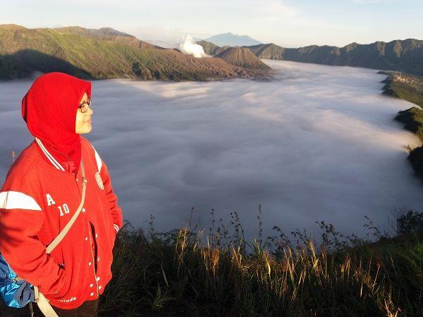 Negeri di atas awan (puncak B29) (dok.pri)