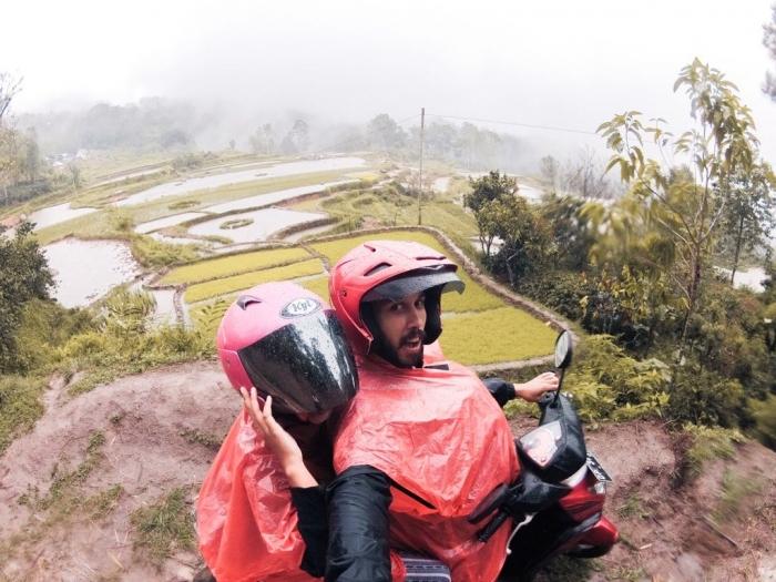 Naik Motor Keliling Toraja! | Dokumen Pribadi