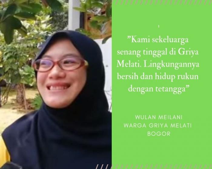 Testimoni salah seorang warga Griya Melati