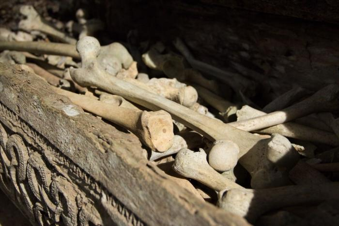 Tulang Manusia di Ke'te Kesu | Dokumen Pribadi