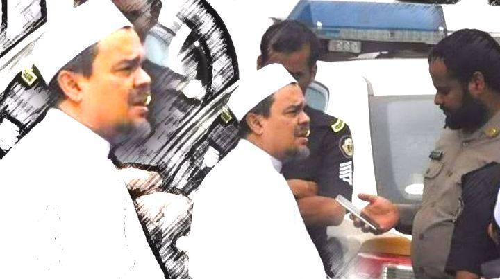 Rizieq Shihab dijemput polisi Arab Saudi untuk diperiksa [Tribunnews.com]