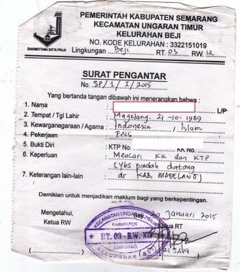 Surat Pengantar Rt Masih Relevankah Halaman All