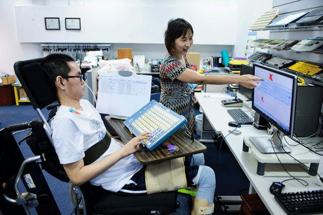 Penyandang disabilitas mempunyai talenta-talenta khusus dan brilian, seperti bisa IT | Sumber ilustrasi: spd.org.sg