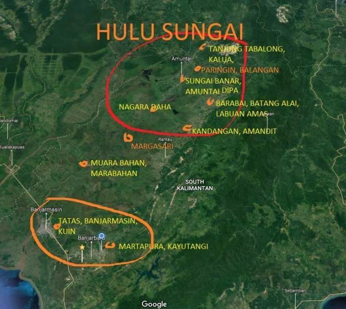 Mengenal Hulu Sungai Tanah Banjar, Melayu Pedalaman yang ...
