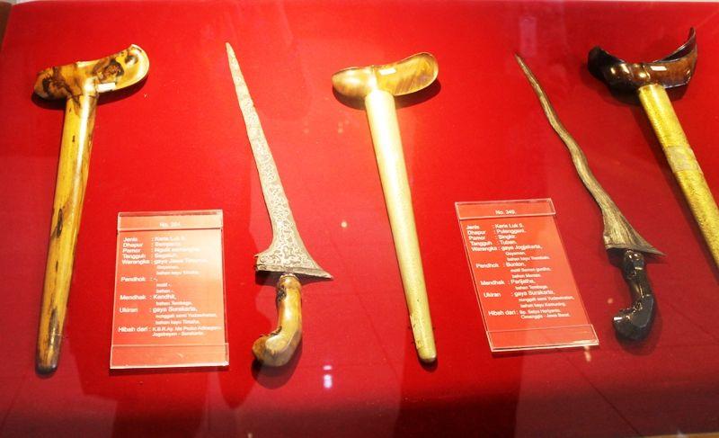 Koleksi keris di Museum Keris