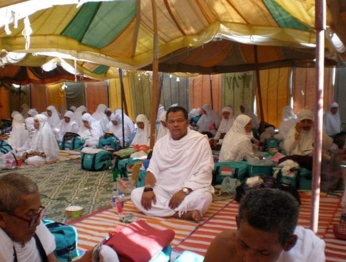 Saat wukuf di Arafah pada musim haji 2007 (Foto: dokumen pribadi)