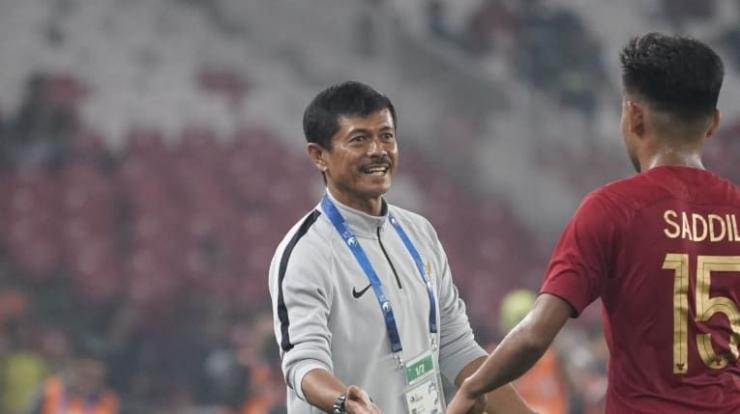 Indra Sjafri dan Saddil Ramdani (Foto The AFC.com)