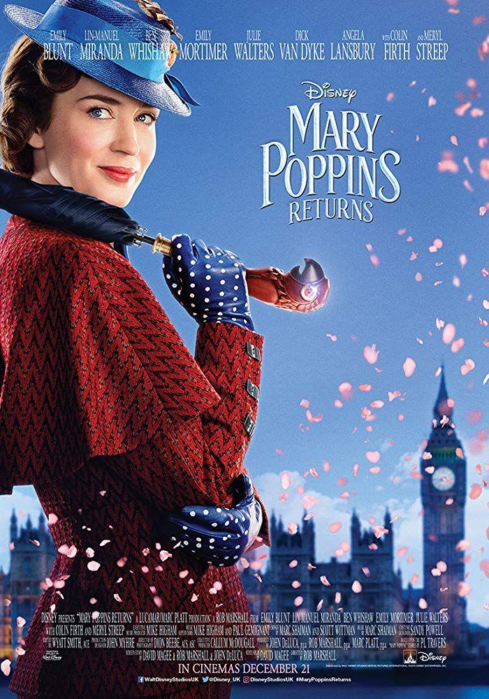 Poster MARY POPPINS RETURNS (Dok: reelcinemas.ae)