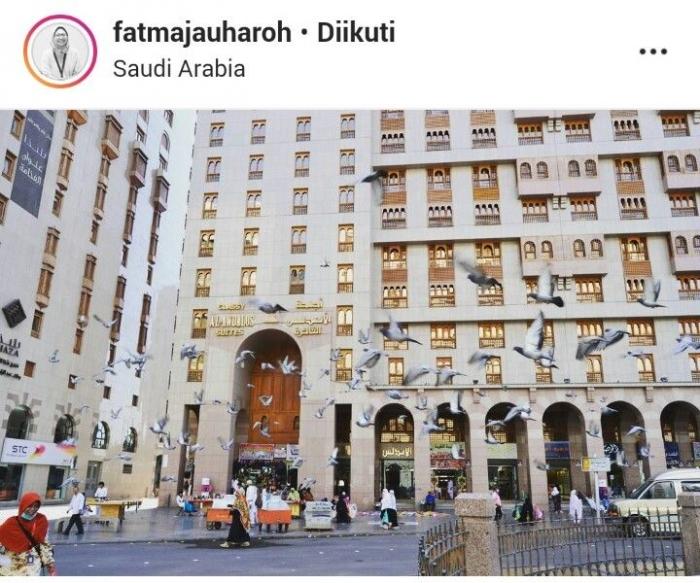 Dok. Fatma Jauharoh | Salah satu sudut kota Mekah