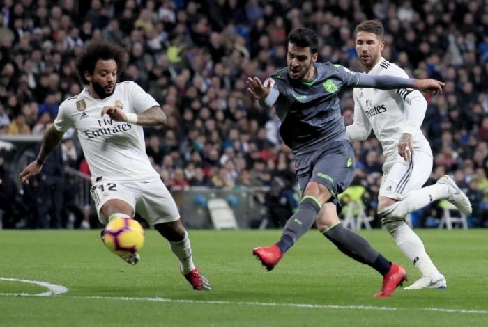 Sergio Ramos dan Marcello, yakin Real Madrid bisa segera bangkit/Foto: Marca