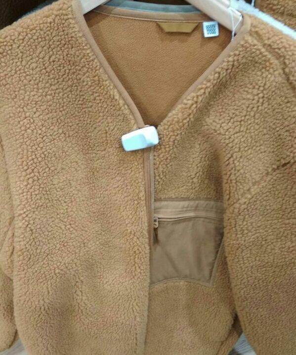 Jaket tanpa kupluk (dok.pri)