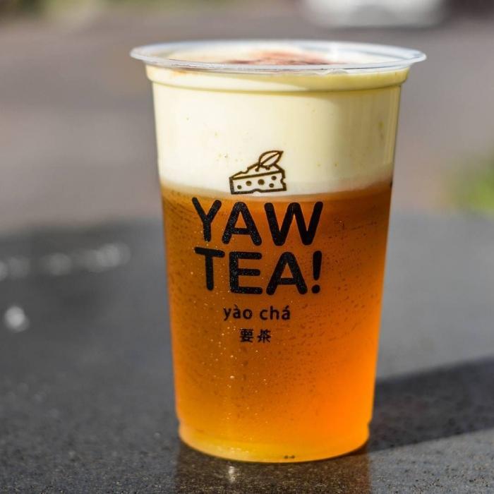 Yeaw Cheese Tea yang manis, gurih dan kekinian
