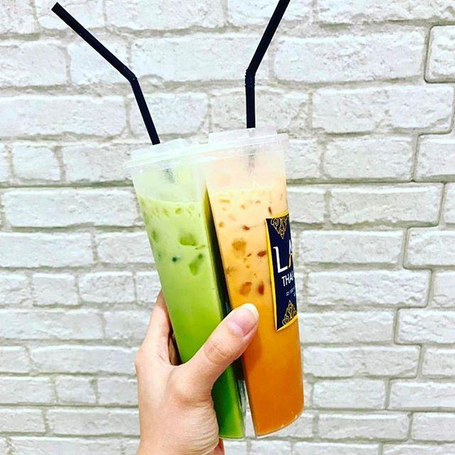 Larb Thai Tea, minuman Thailand dengan menu 2 in 1