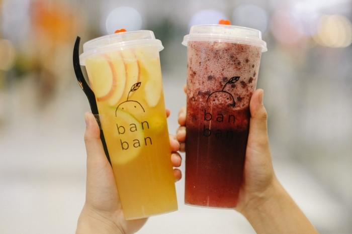 Ban Ban Cheese Tea