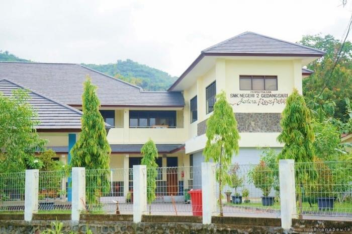 SMK 2 Gedangsari jurusan Tata Busana (Dokumentasi pribadi)