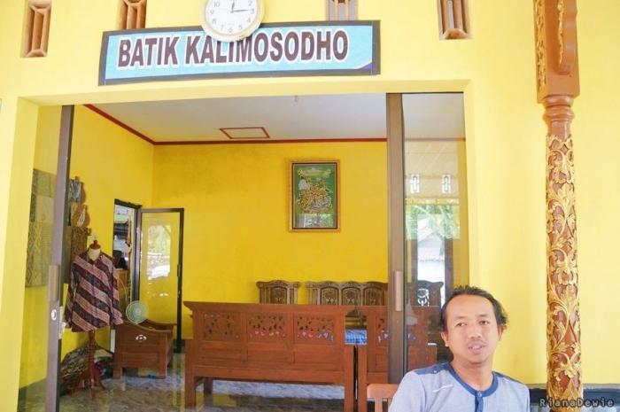 Batik Kalimosodho milik Surono (Dok.Pri)