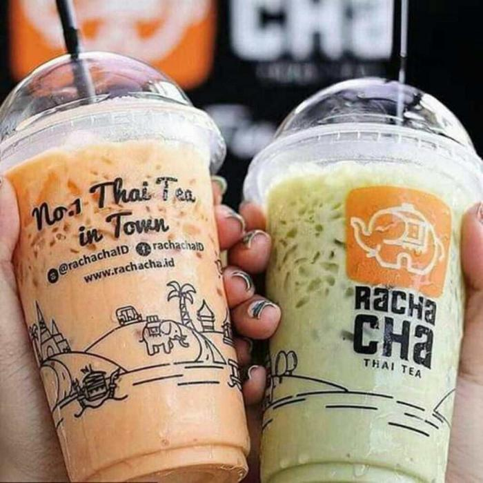 Rachacha Thai Tea, minuman manis yang menyegarkan