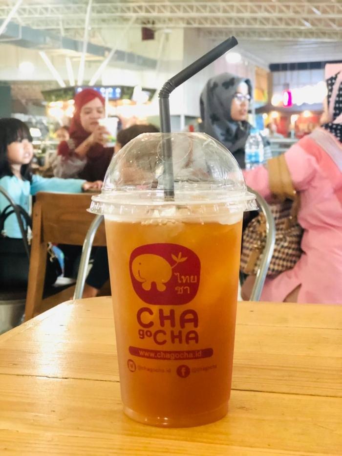 Chagocha, minuman teh Thailand terhitz masa kini
